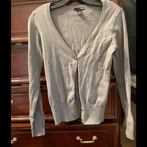 H&M Gray Cardigan size small